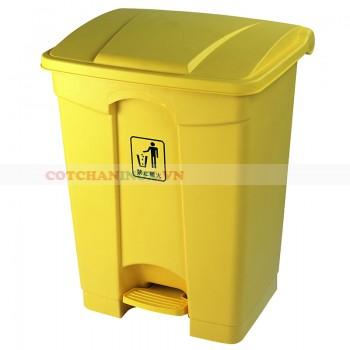 Thùng rác nhựa có nắp đạp chân