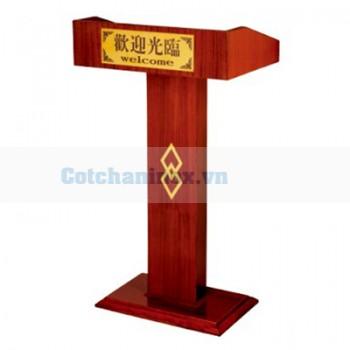 Bục giảng bằng gỗ nhập khẩu J10