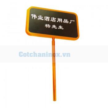 Bảng Menu thông tin đón khách TLJB30