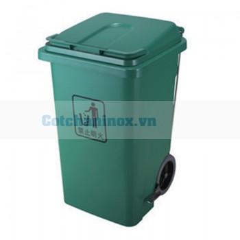 Thùng đựng rác nhựa 100 L - 120 – 240 lít đạp chân