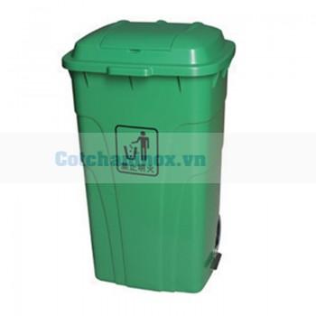 Thùng đựng rác nguy hại đạp chân 120 lít  240 lít