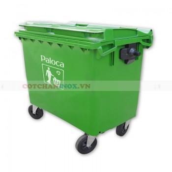 Thùng rác nhựa HPDE 660 lít