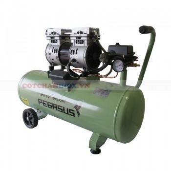 Máy nén khí không dầu giảm âm