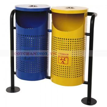 thùng bỏ rác bằng thép siêu bền