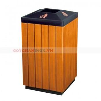 thùng đựng rác gỗ A78-M