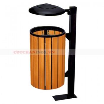 thùng đựng rác gỗ treo đơn A78-H