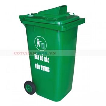 Thùng thu gom rác thải y tế có bánh xe