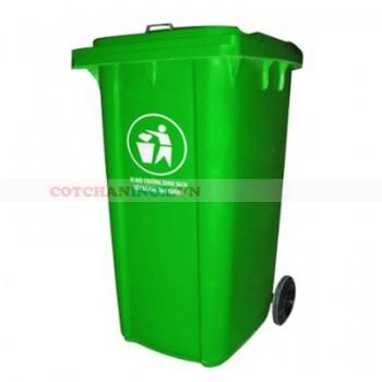 Thùng đựng rác có bánh xe