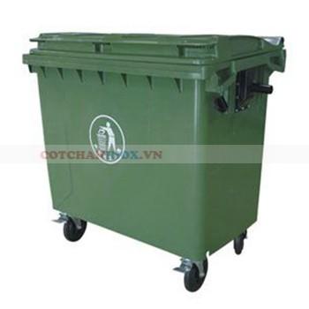 Xe đựng rác thải công nghiệp 660L