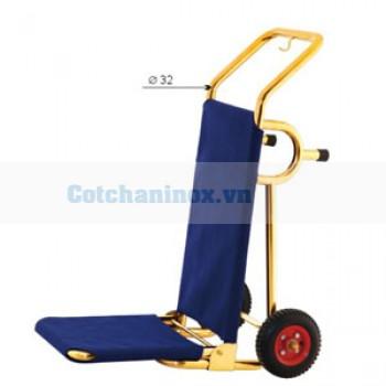 Xe đẩy kéo hành lý bằng inox đẹp giá tốt D14F