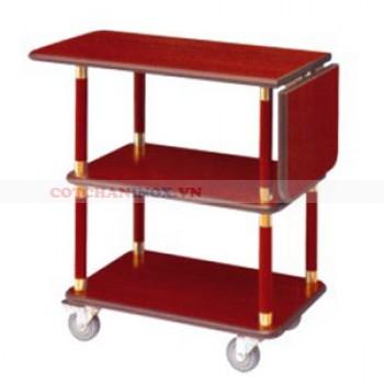 Xe phục vụ bàn bằng gỗ