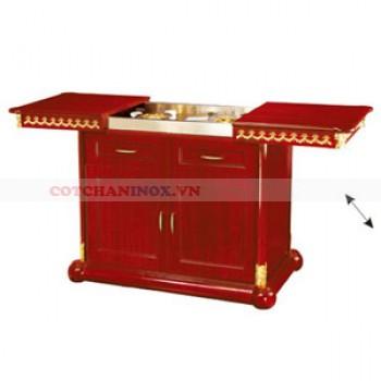 Tủ bếp gỗ cao cấp gia đình