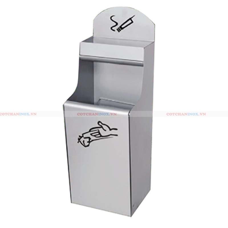 Phân phối thùng rác inox ngoài trời, thùng rác inox cao cấp trên toàn quốc