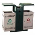 Thùng vứt rác công cộng 2 ngăn
