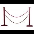 Bán cột chắn cao cấp dây nhung trùng G28LE