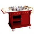 Quầy bếp di động có thể nấu ăn tại bàn