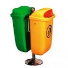 Thùng rác treo đôi nhập khẩu