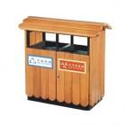 Thùng đựng rác 2 ngăn bằng gỗ đẹp