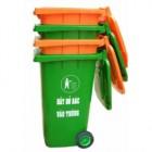 Thùng đựng rác 120 lít có bánh xe